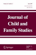 Journal of Child and Family Studies 3/2007