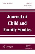 Journal of Child and Family Studies 4/2007