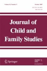 Journal of Child and Family Studies 5/2007
