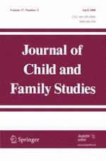 Journal of Child and Family Studies 2/2008