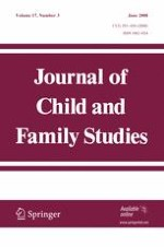 Journal of Child and Family Studies 3/2008