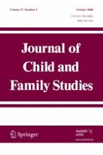 Journal of Child and Family Studies 5/2008