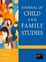 Journal of Child and Family Studies 1/2011