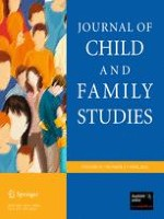 Journal of Child and Family Studies 2/2012