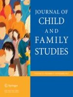 Journal of Child and Family Studies 8/2013