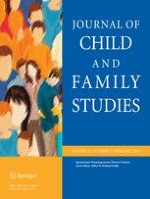 Journal of Child and Family Studies 2/2014