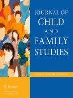 Journal of Child and Family Studies 10/2015