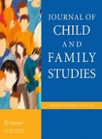 Journal of Child and Family Studies 8/2015