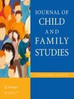 Journal of Child and Family Studies 1/2016