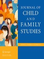 Journal of Child and Family Studies 10/2016