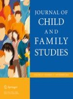Journal of Child and Family Studies 11/2016