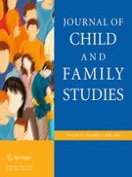 Journal of Child and Family Studies 4/2016