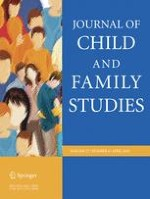 Journal of Child and Family Studies 4/2018