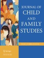 Journal of Child and Family Studies 8/2018