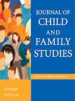 Journal of Child and Family Studies 10/2020
