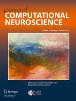 Journal of Computational Neuroscience 2/2014