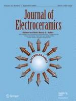 Journal of Electroceramics 1/2007