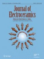 Journal of Electroceramics 4/2007