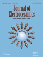 Journal of Electroceramics 4/2009