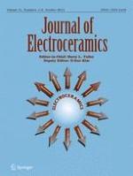 Journal of Electroceramics 1-2/2013