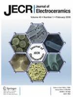 Journal of Electroceramics 1/2018