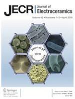 Journal of Electroceramics 1-2/2019