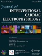 Journal of Interventional Cardiac Electrophysiology 3/2014