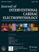 Journal of Interventional Cardiac Electrophysiology 2/2016