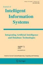 Journal of Intelligent Information Systems 1/2011