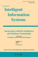 Journal of Intelligent Information Systems 3/2011