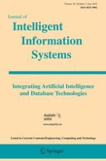 Journal of Intelligent Information Systems 3/2012