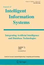 Journal of Intelligent Information Systems 1/2013