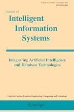 Journal of Intelligent Information Systems 3/2020