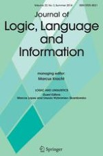 Journal of Logic, Language and Information 3/2014