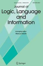 Journal of Logic, Language and Information 1/2015