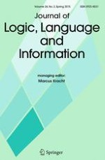 Journal of Logic, Language and Information 2/2015