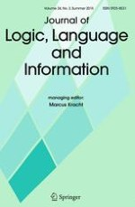 Journal of Logic, Language and Information 3/2015