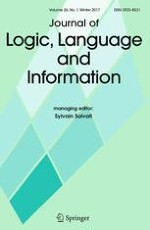 Journal of Logic, Language and Information 1/2017
