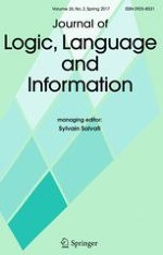 Journal of Logic, Language and Information 2/2017
