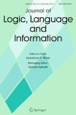 Journal of Logic, Language and Information 3/2019