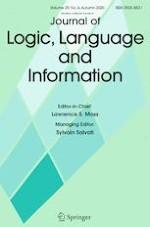 Journal Of Logic Language And Information Springerprofessional De