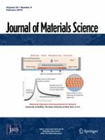 Journal of Materials Science 4/2019