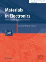 Journal of Materials Science: Materials in Electronics 8/2007