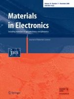 Journal of Materials Science: Materials in Electronics 11/2008