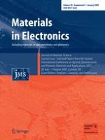 Journal of Materials Science: Materials in Electronics 1/2009