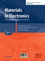 Journal of Materials Science: Materials in Electronics 10/2011