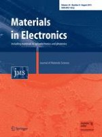Journal of Materials Science: Materials in Electronics 8/2013