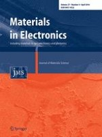 Journal of Materials Science: Materials in Electronics 4/2016