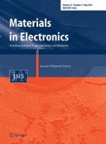 Journal of Materials Science: Materials in Electronics 5/2016