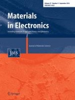 Journal of Materials Science: Materials in Electronics 9/2016